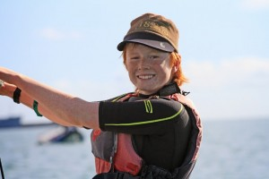 Me Windsurfing and Smiling